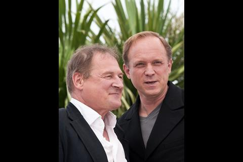 Burghart Klaussner and actor Ulrich Tukur